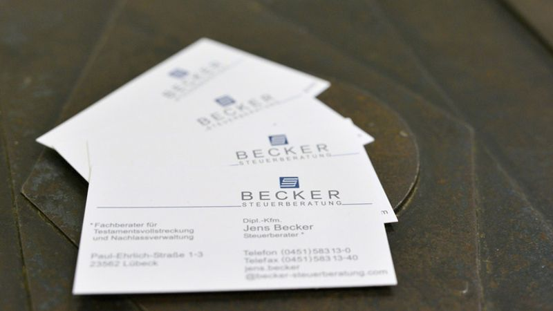 Weitere Dienstleistungsangebote Leistungen Becker Steuerberatung